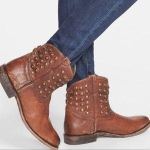 Frye Wyatt Studded Ankle Boots